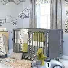 circus crib bedding set jean baby boy grey vintage car truck nursery quilt bed migi