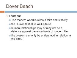 matthew arnold dover beach<br