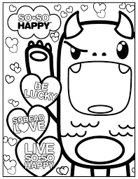 Small Picture Kawaii Coloring Pages Bestofcoloringcom