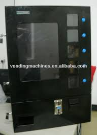 Wall Mounted Cigarette Vending Machine Magnificent Wall Mounted Vending Machine For Cigarettechewing Gums Napkins