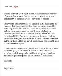 professional cover letter 17 sample loan application letters pdf doc free premium
