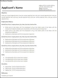 free fill in the blank resume templates fillable resume template blank templates 2 40 free samples examples