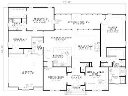 house plans with two master suites. Two Master Suites - 59638ND Floor Plan Main Level House Plans With G