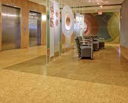 image of commercial cork flooring