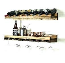 wine glass shelves wall mount wall mounted stemware racks wall mounted stemware rack 2 piece 8