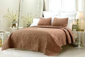 king coverlet sets oversized cotton quilted coverlet set brown king quilt sets canada