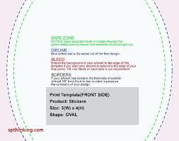 Template Avery Oval Label Template 22804 Sticker Custom Vinyl