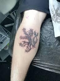 Tetování český Lev Seznamcz