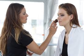 jenna menard at work with a client