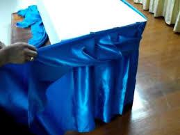 making table skirt basic twist style skirt