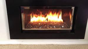 napoleon modern gas fireplace insert direct vent gdi glass burner