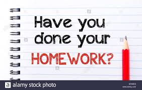 have you done your homework text written on notebook page red  have you done your homework text written on notebook page red pencil on the right motivational concept image
