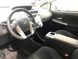 2015 Used Toyota Prius v 5dr Wagon Three at East Madison Toyota ...