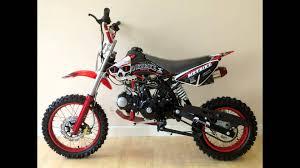 110cc dirt bike from funky bikes 4 stroke 110cc pit bike youtube