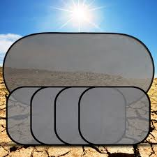 <b>5Pcs</b>/<b>Set Car Curtain</b> Window Screen Sunshade Solar Protection ...