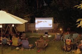 Summer Backyard Movie Night  Camille StylesMovie Backyard