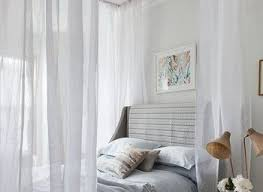 Twin Size Canopy Bed Curtains - blueridgeapartments.com