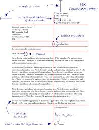Formal Covering Letter Format