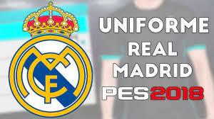 802 x 996 jpeg 207 кб. Uniforme Real Madrid Pes 2018 Ps3