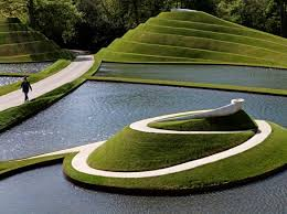 Small Picture Charles Jencks Garden of Cosmic Speculation Architecture