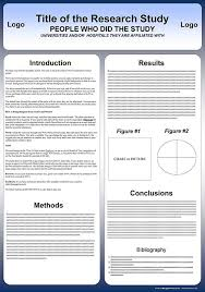Poster Template Download Free Powerpoint Scientific Research Poster Templates For Printing