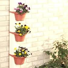 wall flower pots plastic vertical hanging green wall garden pot vertical green wall hanging garden wall flower pots