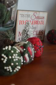 Felted Wool Ornaments - Designers Sweet Spot