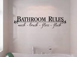 funny bathroom decals image of