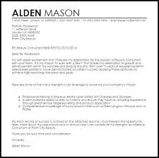 Cosmetologist Cover Letter Cosmetology Cover Letter Ideal
