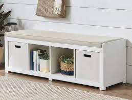 gardens storage organizer bench