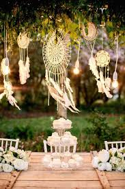 Dream Catcher Baby Shower Decorations Bohemian Wedding Decor 100 Ideas for a Dreamcatcher Wedding 56