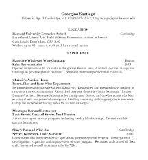 Sample Bartending Resume Sample Resume Resume For Bartender Server