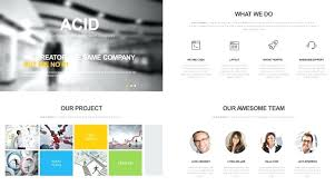 Company Overview Templates Template For Company Profile Template Design For Company