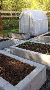 Small Picture Frugal Gardening Four Inexpensive Raised Bed Ideas Concrete