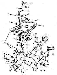 gear shift parts for ford 8n tractors (1947 1952) ford 9n tractor parts catalog at 8n Ford Tractor Diagrams