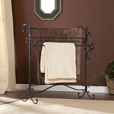 Harper Blvd Black Metal Quilt Rack - Free Shipping Today ... & Harper Blvd Black Metal Quilt Rack Adamdwight.com