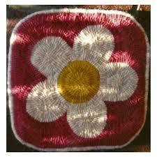 beginner rug hooking kit daisy