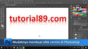 Cara Membuat Efek Lighting Di Photoshop Cara Mudah Membuat Efek Cermin Di Photoshop Tutorial89