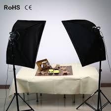 soft box photography lighting kit continuous lighting system photo studio equipment photo model portraits shooting box led