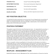 Cocktail Waitress Job Description For Resume Waitress Resume For Position Template Best Job Objective 48