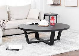 solid wood black walnut small round coffee table tea coffee and end table sets