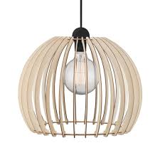 home office light fixtures. Nordlux Chino Large 40cm Wooden Cage Pendant Light - Ceiling Lights Lampsy Home Office Fixtures