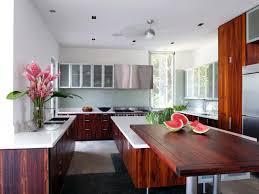 Wenge Wood Kitchen Cabinets Wood Countertops Chrome Kitchen Faucet Brown Wood Kitchen Cabinet