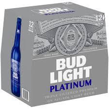 12 Pack Bud Light Bottles Bud Light Platinum Beer 12 Pack Beer 12 Fl Oz Bottles Walmart Com