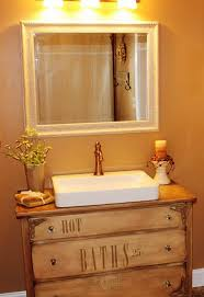 Bathroom Diy Ideas Awesome Diy Repurposed Bathroom Vanity Architecture Home Design