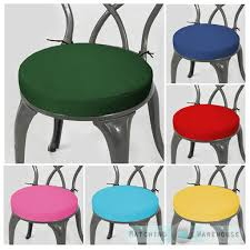 MHerger Furniture Brilliant Garden Bistro Chair Cushions With Round Cushion Pad  Only Waterproof Outdoor