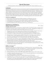 Resume Finance Resume Sample