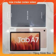 NGUYÊN SEAL] Máy Tính Bảng Samsung Galaxy Tab A7 Model 2020 Ram 3GB Bộ Nhớ  64GB Tặng Bao Da Hàng Chính Hãng chính hãng 6,539,000đ