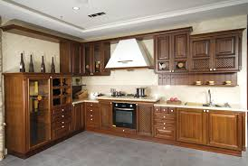 Kitchen cabinets wood Solid Wood Natural Wood Kabinet What Are The Best Materials For Modular Kitchen