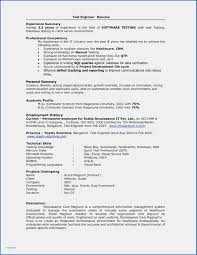 Database User Manual Template Luxury Resume Format For Software